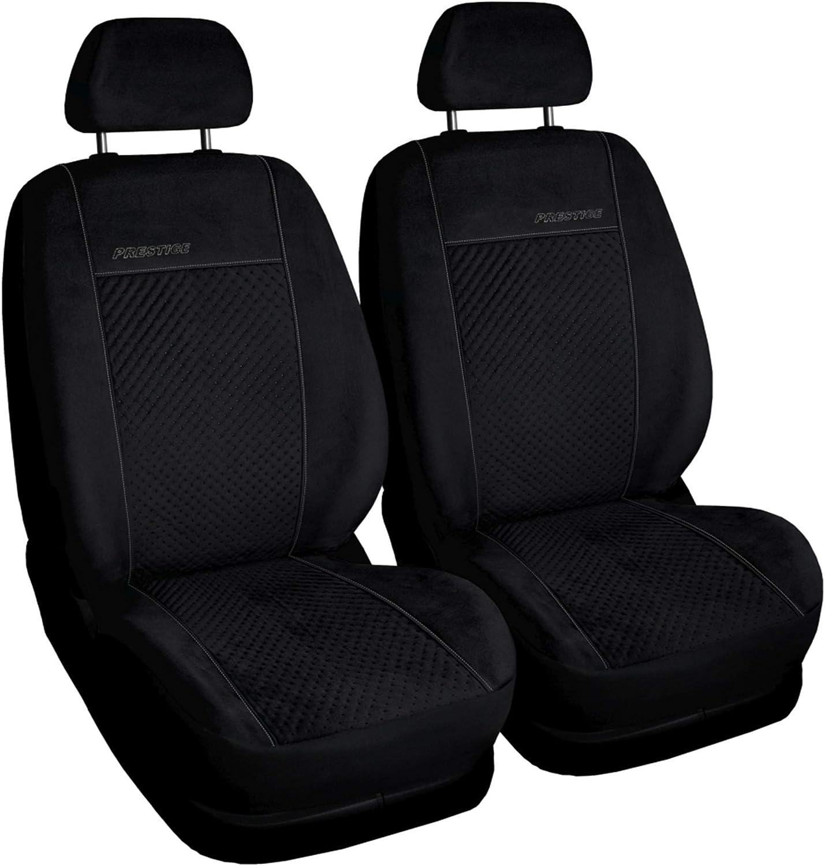 GSC Sitzbez/üge Universal Schonbez/üge Prestige 1+1 kompatibel mit Mitsubishi L-200