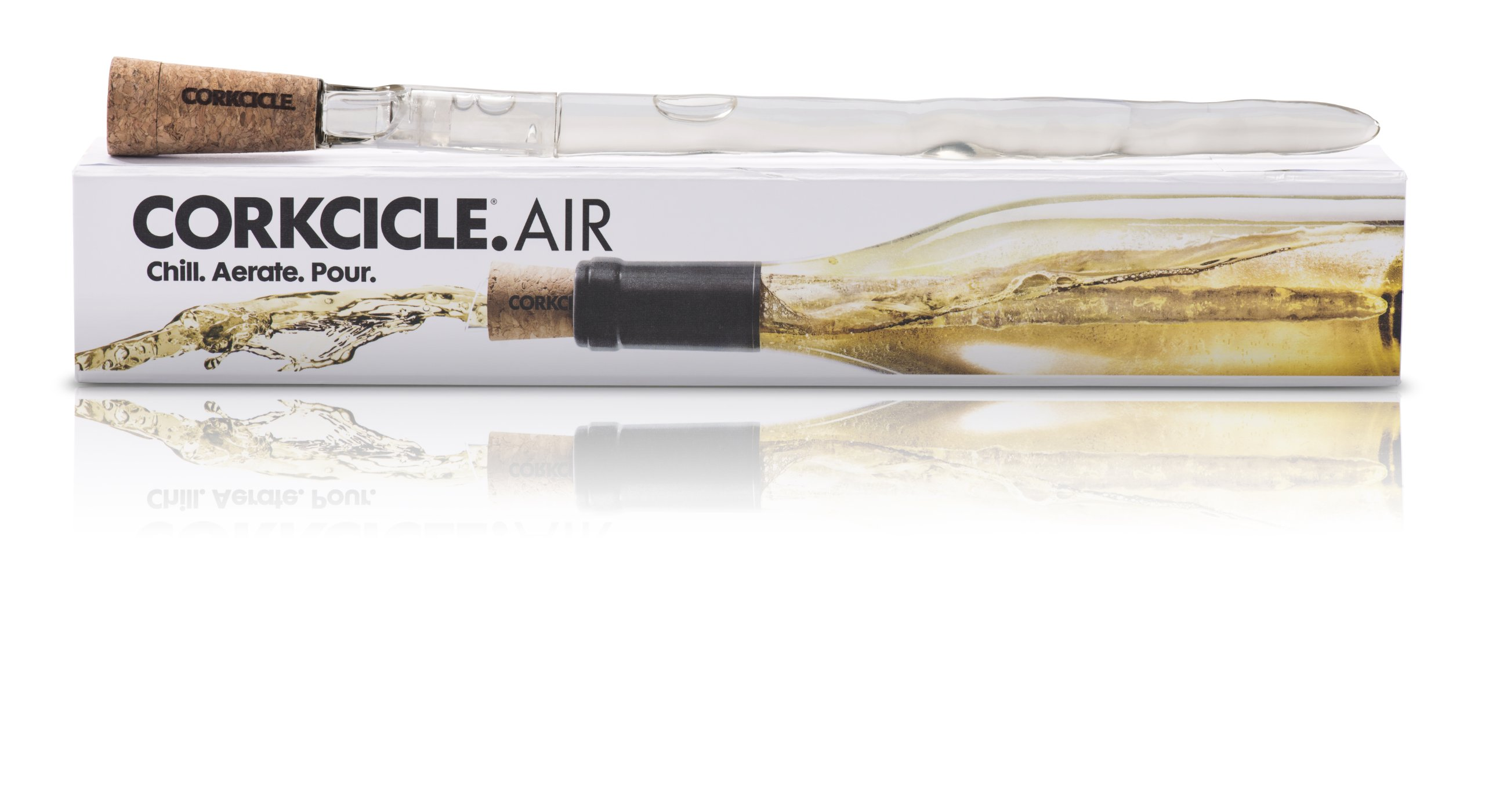 Corkcicle Air 4-in-1 Chiller, Aerator, Pourer, Stopper by Corkcicle (Image #3)