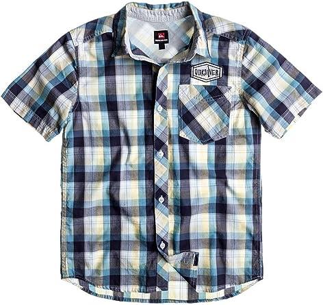 QUIKSILVER - Camisa de manga corta niño, Color: multicolor, Talla : 14: Amazon.es: Ropa y accesorios