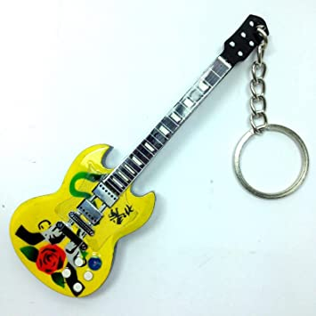 Llaveros de madera con forma de guitarra - Guns N Roses ...