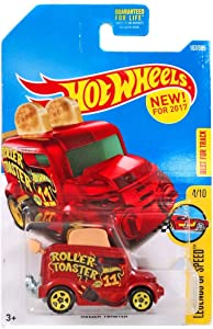 Hot Wheels 2017 Legends of Speed Roller Toaster (Toaster Car) 167/365, Red
