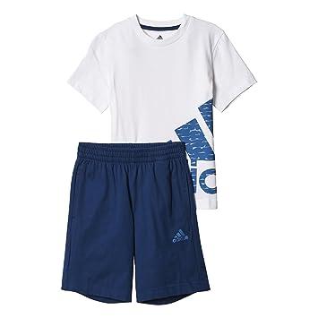 Pantalón Lk Adidas Con Conjunto Camiseta Logo De Sum Set Corto wfr8qwd