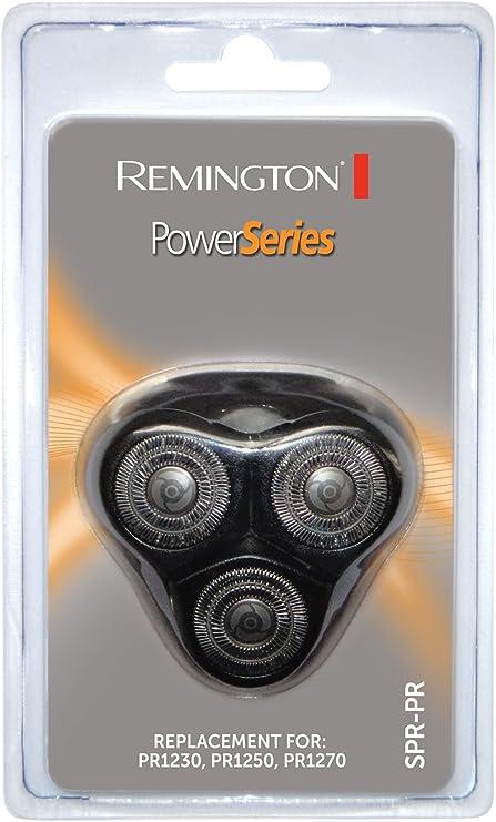 Remington SPR-PR - Cabezal para afeitadoras rotativas Remington PowerSeries: Amazon.es: Salud y cuidado personal