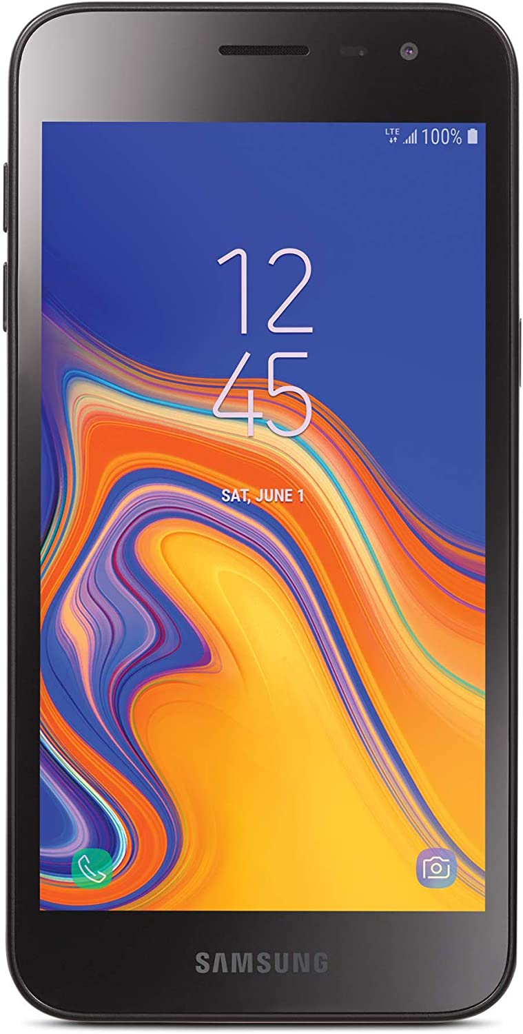 Total Wireless Samsung Galaxy J2 4G LTE Prepaid Smartphone (Locked) - Black - 16GB - Sim Card Included - CDMA