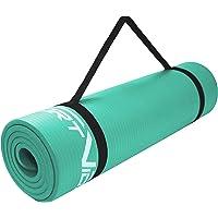 SportVida Mata do jogi, antypoślizgowa, ekstra gruba, mata do jogi z miękką pianką – mata NBR – gruba mata gimnastyczna…