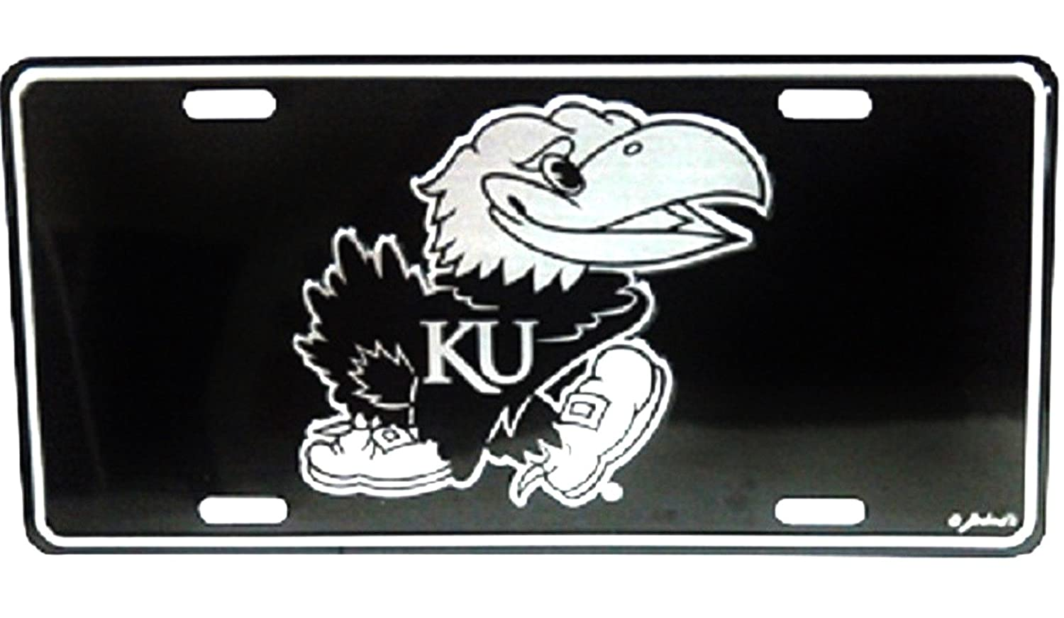 Kansas Jayhawks Elite License Plate Game Day Outfitters