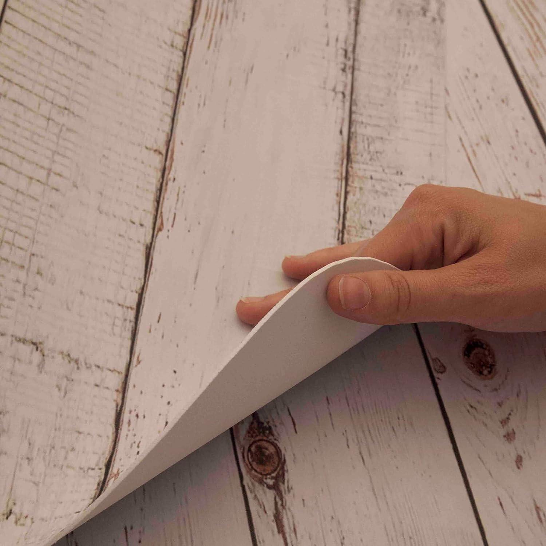 Mixed Wood Dekoidea by Crearreda Decorazione per muri Testiera Letto 195 x 95 cm in Gomma