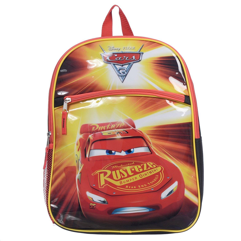 Disney Pixar Boys' Cars Lightning McQueen 15 Backpack K1078_CABP_NV