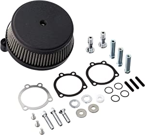 Arlen Ness 50-339 Black Big Sucker Stage I Air Filter Kit with Cover
