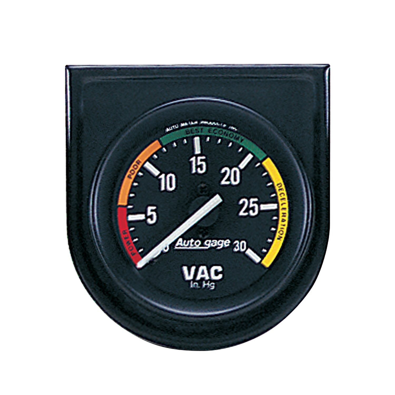 Auto Meter 2337 Autogage Vacuum Gauge Panel