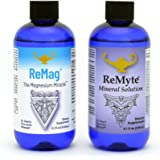 RnA ReSet - ReMag High Absorption Magnesium Liquid, ReMyte Mineral Solution, 12 Minerals Including Iodine, Selenium, Zinc, Ma