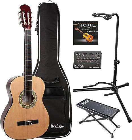 Classic Cantabile AS-851 set de guitarra de concierto 3/4: Amazon ...