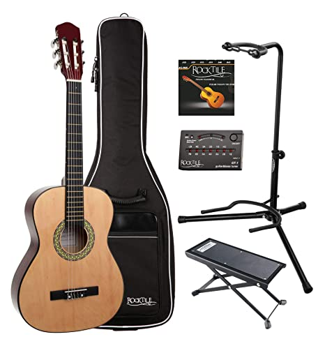 Classic Cantabile AS-851 set de guitarra de concierto 3/4: Amazon ...