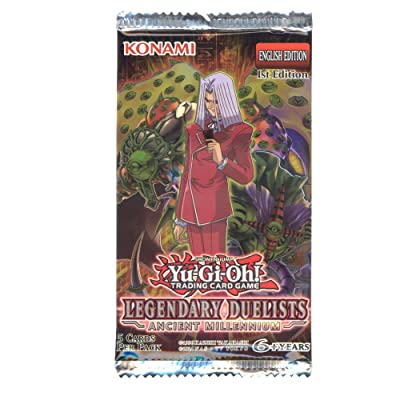 Konami Yu-Gi-Oh Cards - Legendary Duelists: Ancient Millennium - Booster Pack (5 Cards): Toys & Games