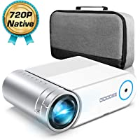 GooDee G500 HD Video Projector 3800 Lux 200' Home Theater Movie Projector