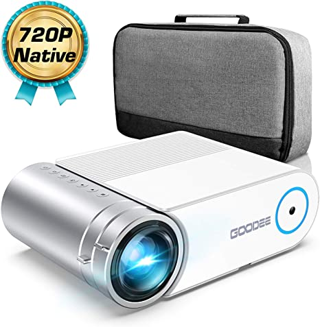 Amazon.com: GooDee G500 - Proyector de vídeo HD 4000 Lux con ...
