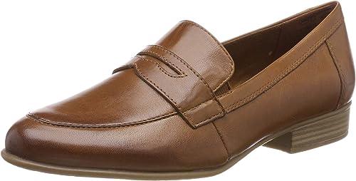 Tamaris Damen Slipper Braun Schuhe, Größe:38 | real