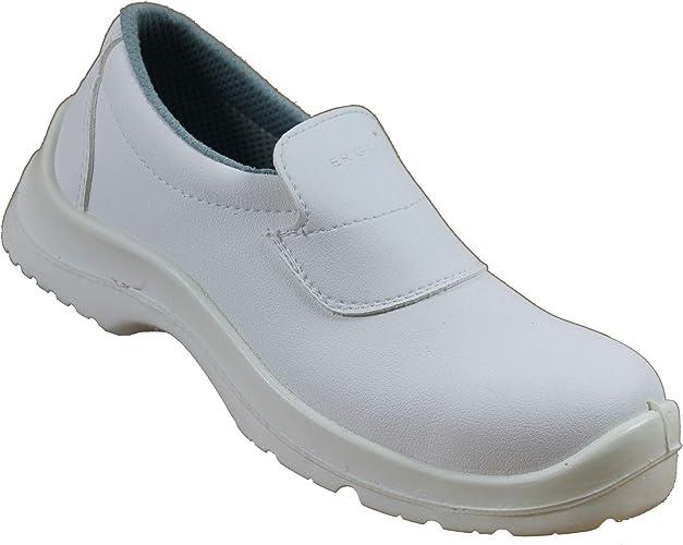 Ergos S2 Chaussures de sécurité SRC Travail Chaussures de Cuisine ...