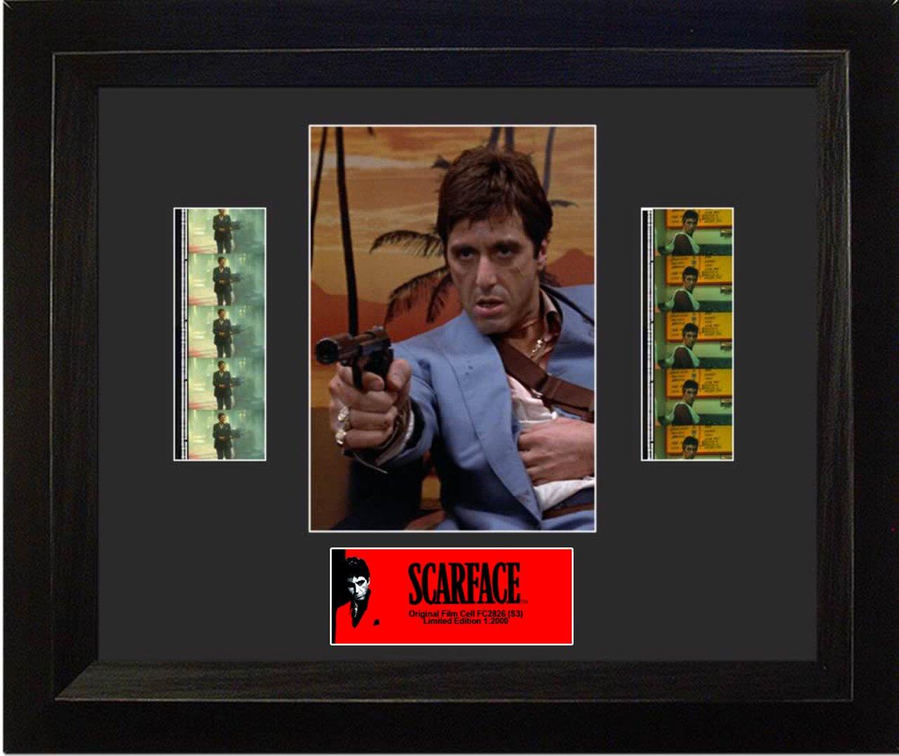 Amazoncom Film Cells Scarface S3 Double Prints Posters Prints