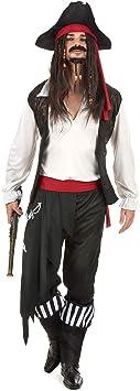 Generique Disfraz de Pirata Hombre XL: Amazon.es: Juguetes y ...