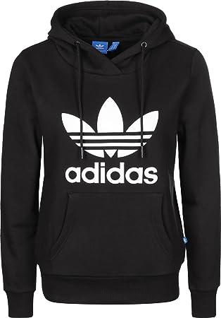 adidas sweatshirt damen weiß schwarz