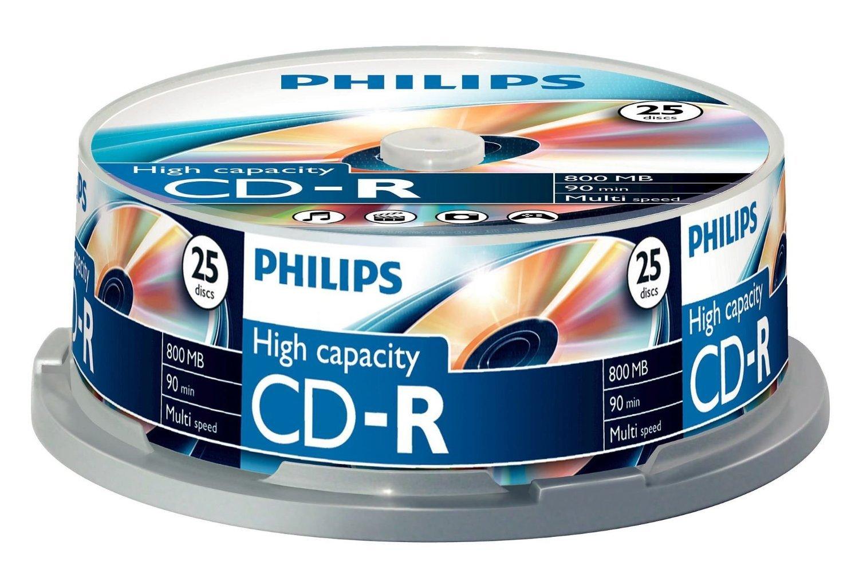 Philips Cd-R Cr8D8Nb25 - Blank Cds