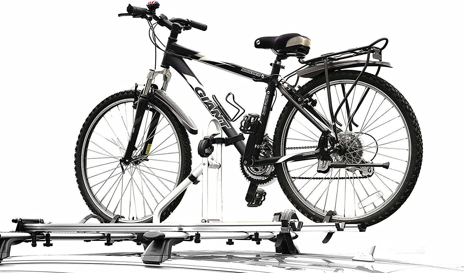 CyclingDeal Alloy Car Roof Bike Bicycle Carrier Rack for 2 Bikes