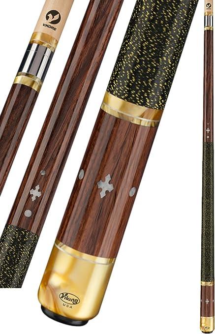 "Power Play Regency Fine Ash and Rosewood Pool Snooker Billiard Cue 57/"" inch"