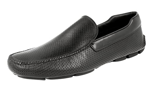 Men's 2DD115 Leather Loafers