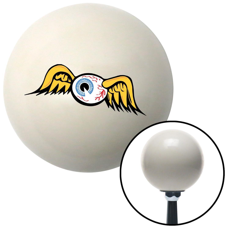 American Shifter 168522 Ivory Flying Eyeball Shift Knob with M16 x 1.5 Insert