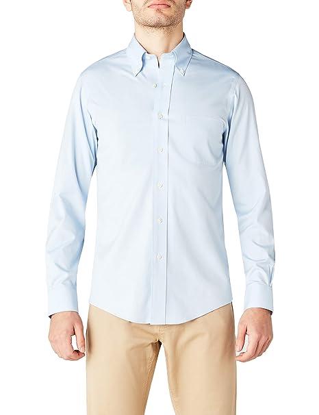 scarpe di separazione 5730b 8ce7f Brooks Brothers Dress Non-Iron Botton Down Milano Camicia Uomo
