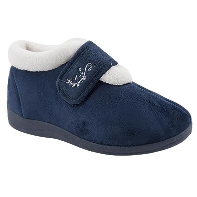 Dunlop, Pantofole donna Blu blu, Blu (blu), 36