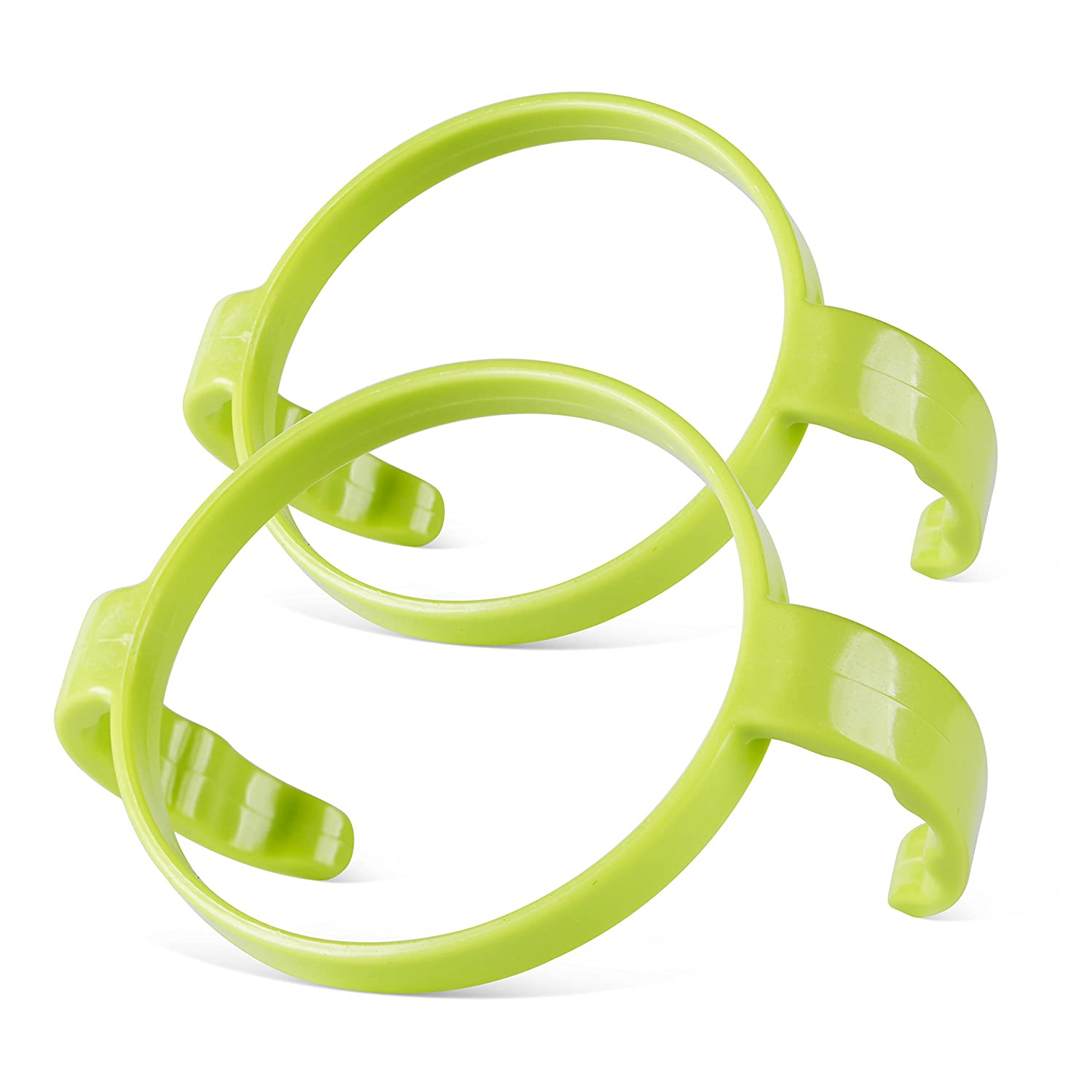 Compatible Bottle Handle for Comotomo, (Pack of 2, Green)