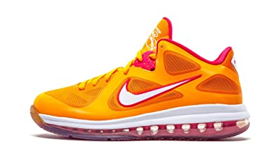 Nike LEBRON 9 Low Miami Floridians Vivid Orange Cherry Easter Night  510811-800 [US