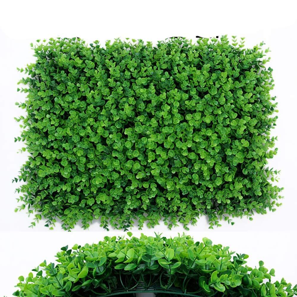 GAIGAI 人工芝壁、頑丈なプラスチックの偽のユーカリの葉、部屋の誕生日の背景、家の装飾、キッチン、庭、結婚式、パーティーの装飾、20個 B07S8GWMTB