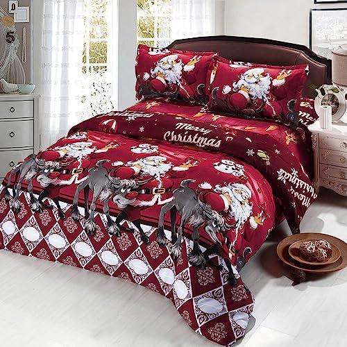 Christmas Sheets King.Christmas Bedding Sheets Amazon Co Uk