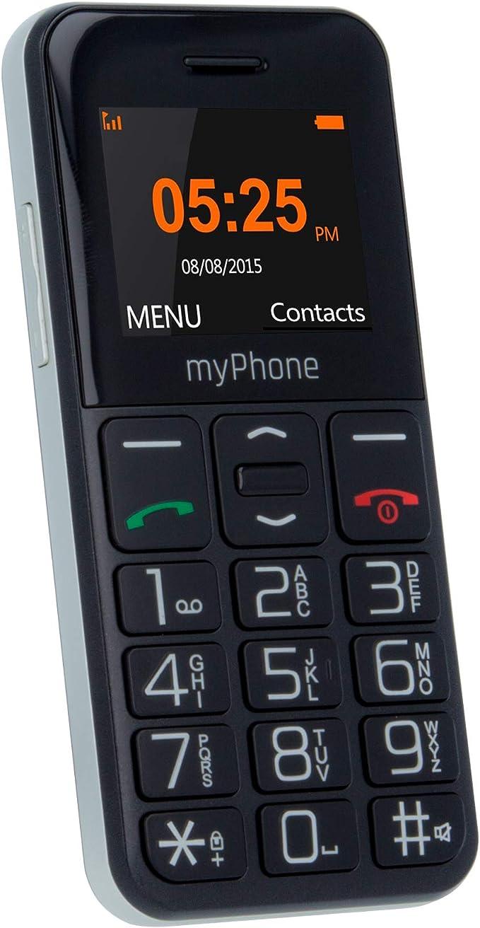 myPhone Halo Easy Negro teléfono IP: Amazon.es: Electrónica