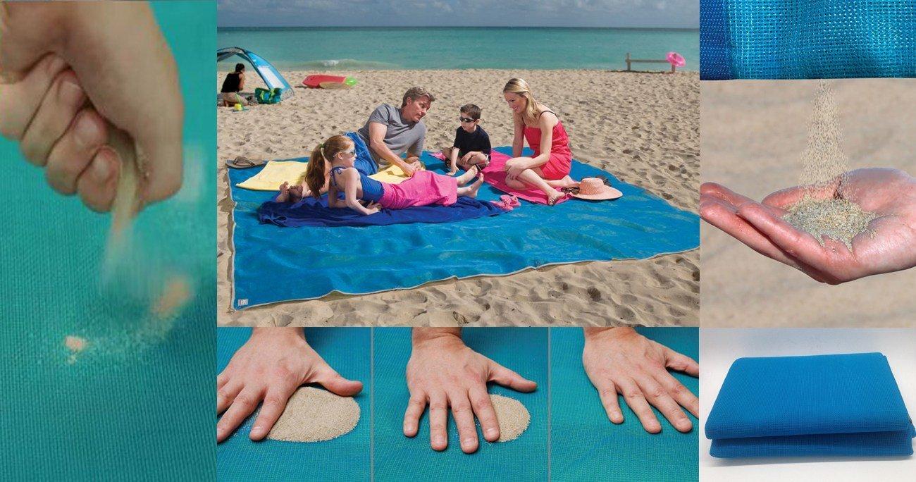 - Tempo di Palloncini® - Toalla de playa / Pareo que repele la arena. Dimensiones: 200 x 150 cm: Amazon.es: Hogar