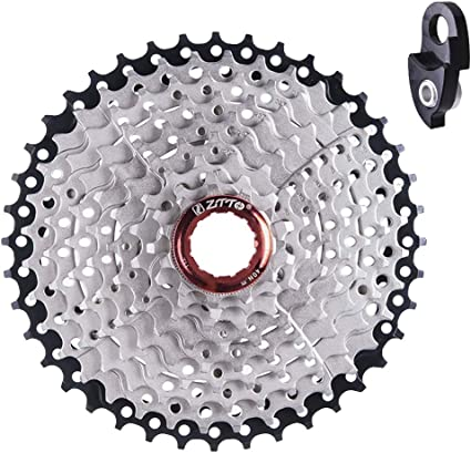 ZTTO 11-40T 9 Speed Wide Ratio Sunrace for Bicycle Bike MTB Gears Cassette F2C2