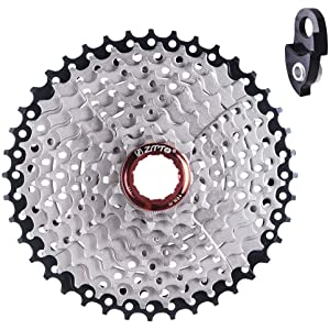 Cassettes, Freewheels & Cogs Sunrace Csmz90 11-50t 12 Speed Wide Ratio Mountain Bike Mtb Cassette Silver New Reliable Performance