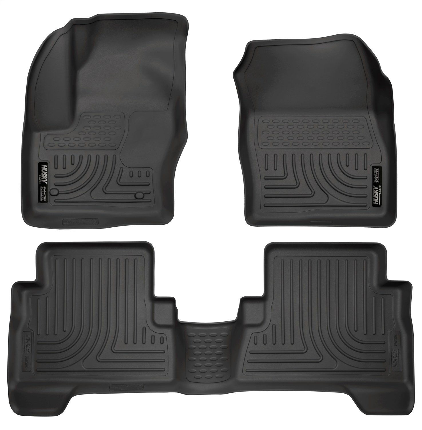 Husky Liners Front & 2nd Seat Floor Liners Fits 13-18 C-Max, 13-18 Escape 99741