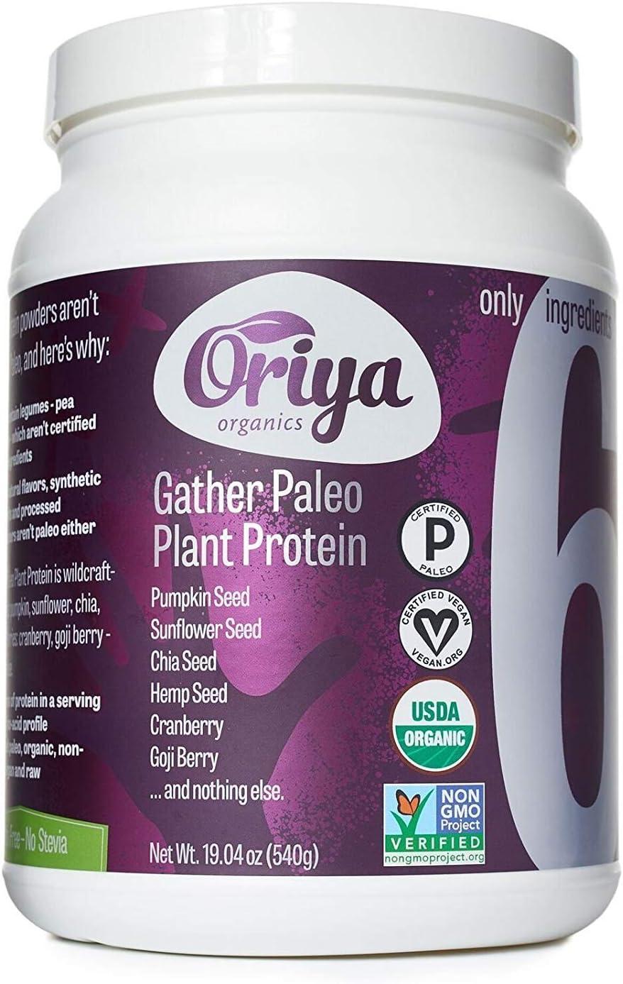Oriya Organics, Protein Plant Gather Paleo, 540 Gram
