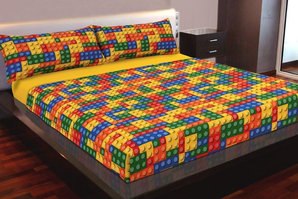 Montse Interiors Juego de sábanas Estampado Colores (Piezas ...