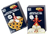 Matzo Ball Soup Kit & Matzo Ball Mix, Double Header from The Matzo Project, Vegetarian, Kosher, Low-Fat, No-MSG, No Trans Fat, Nothing Artificial, 4.5oz, Pack of 2