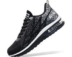 Autper Mens Air Athletic Running Tennis Shoes Lightweight Sport Gym Jogging Walking Sneakers US 6.5-US12.5