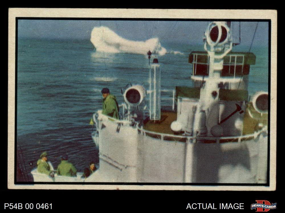 1954 Bowman Power for Peace # 1 Iceberg Patrol (Card) Dean's Cards 5 - EX 71-Vqm-eyrL