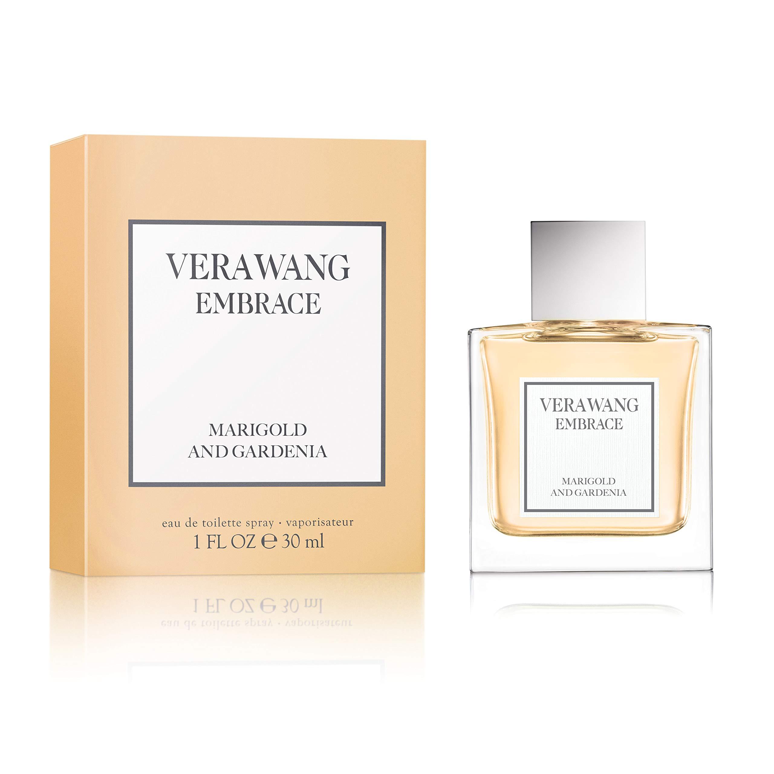 Vera Wang Embrace Eau de Toilette Spray for Women, Marigold and Gardenia, Great Mother's Day Gift, 1 Fluid Ounce
