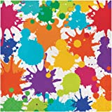 Creative Converting 317267 16 Count Paper Lunch Napkins, Art Party