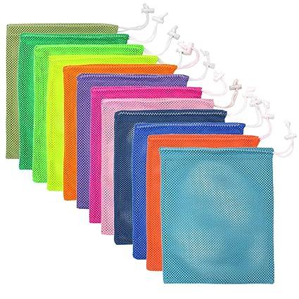 Amazon.com: M-Aimee - 12 bolsas de malla para la colada de ...