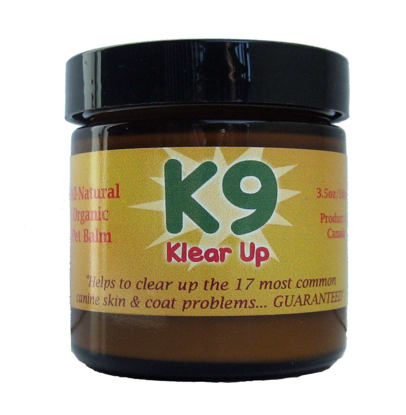 K9 KlearUp - Mayan Pet Skin Cream with Tepezcohuite (from ''Skin Tree'') - anti-fungal, anti-bacterial, cell regenerating - cures hot spots, rashes, eczema, and more... - 100% money back guarantee! Nothing to lose but your pet's skin issues!